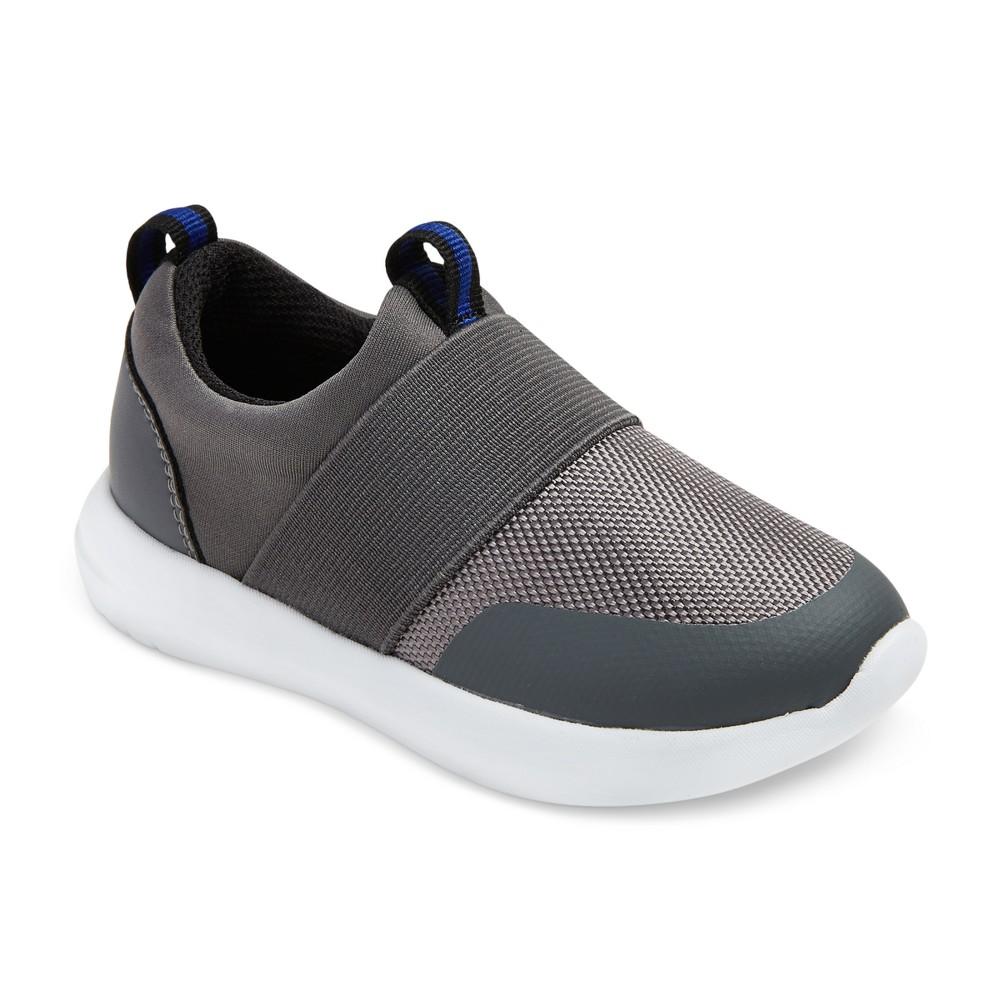 Toddler Boys Desmond Slip On Sneakers 5 - Cat & Jack - Gray