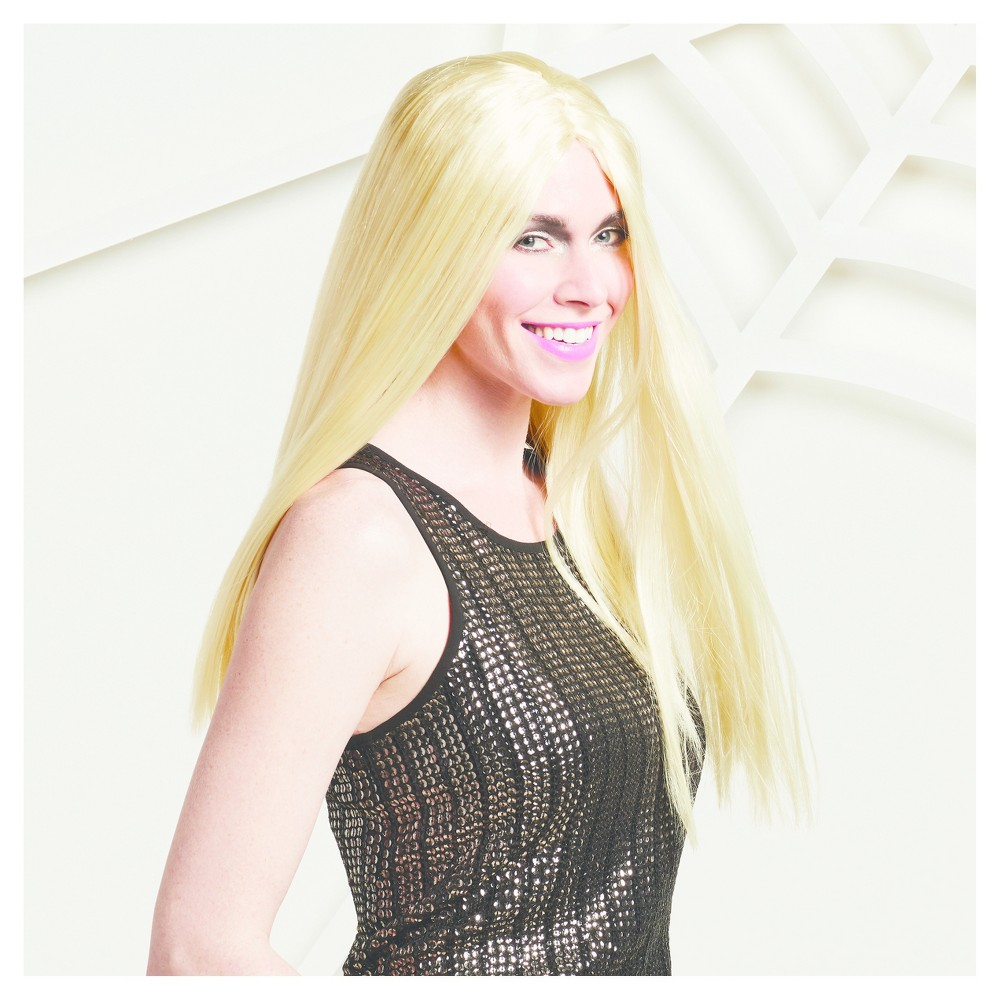 Womens Long and Sleek Blonde Wig - Hyde and Eek! Boutique, Light Gold