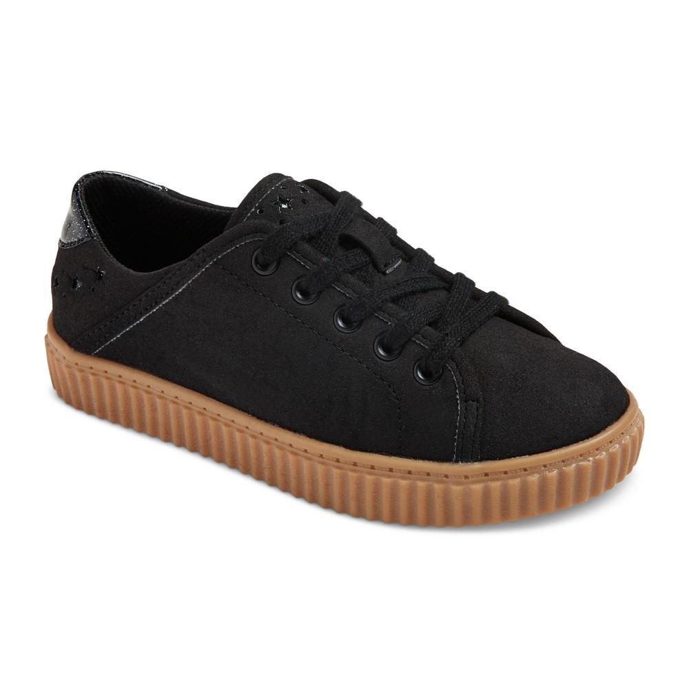 Girls Porsha Creeper Sneakers - Art Class Black 2