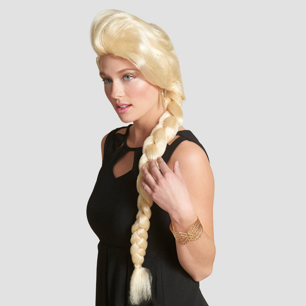 Womens Princess Braid Wig - Hyde and Eek! Boutique, Bright Gold