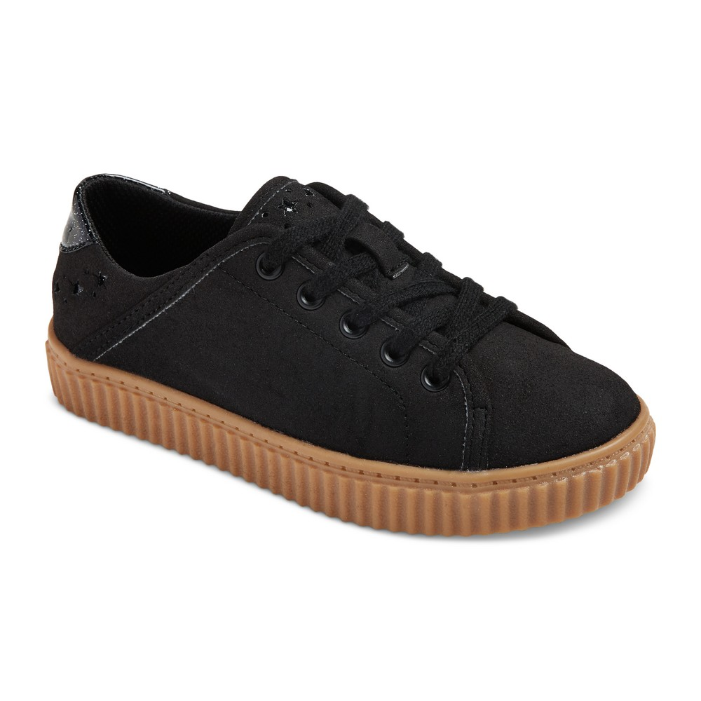 Girls Porsha Creeper Sneakers - Art Class Black 3