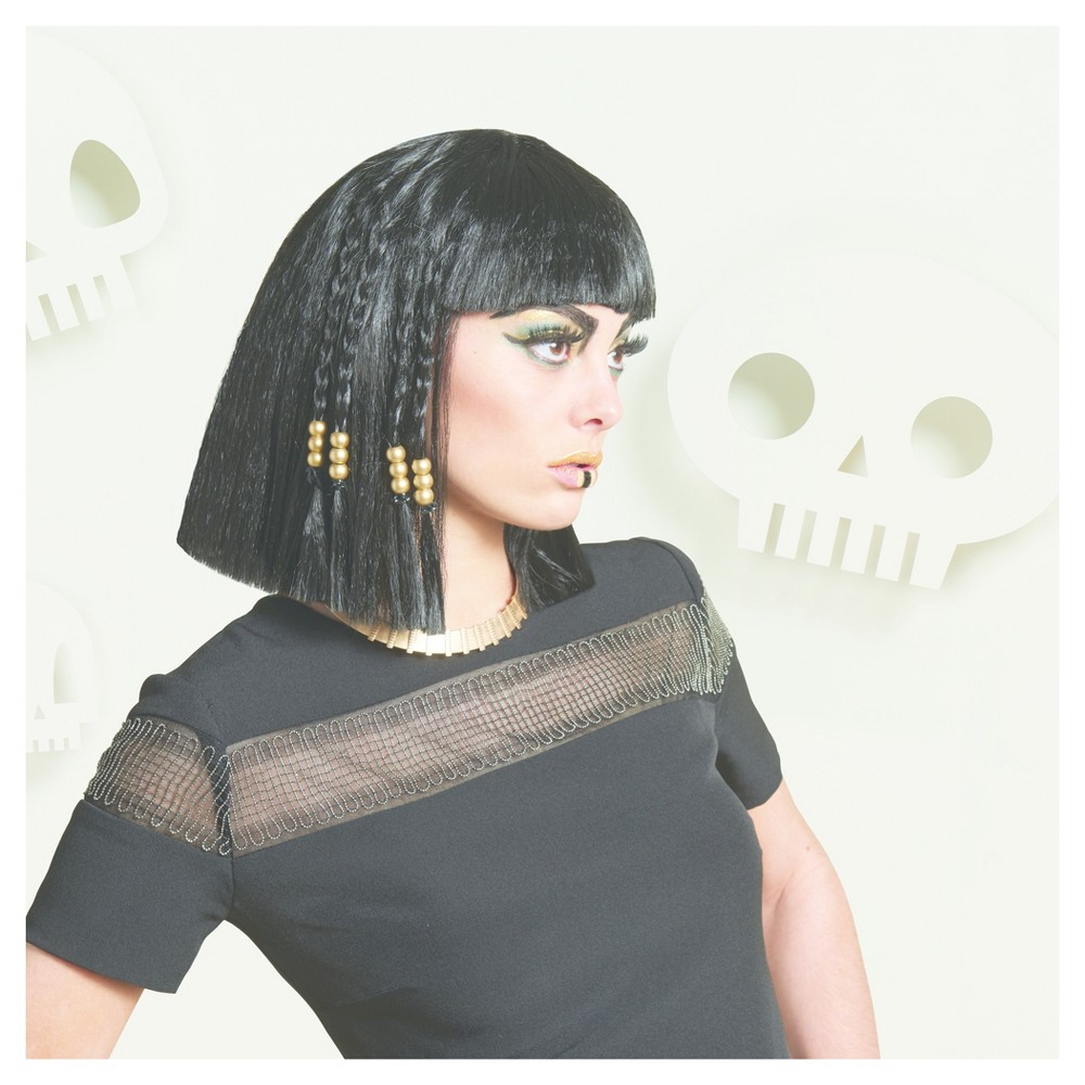 Womens Cleopatra Wig - Hyde and Eek! Boutique, Black