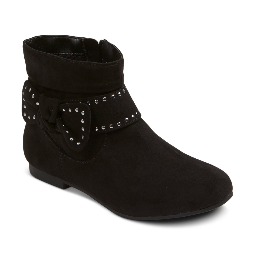 Girls Sheila Ankle Fashion Boots Cat & Jack - Black 2
