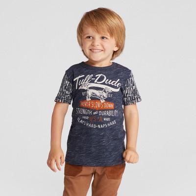 Toddler Boys' Tuff Dude Graphic T-Shirt Genuine Kids® from OshKosh™ Navy 18M