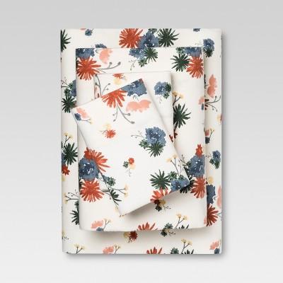 Flannel Sheet Set (King)Multifloral - Threshold™