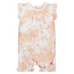 Burt's Bees Baby® Girls' Paint Splatter Romper - Orange