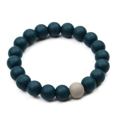 Bumkins Nixi Briesa Teether Bracelet - Navy