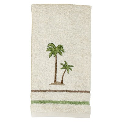 Key Largo Cotton Hand Towel Cream - Saturday Knight Ltd