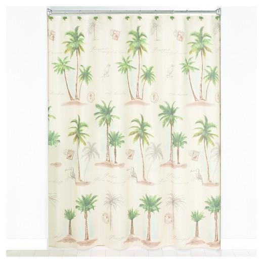 Palm Tree Shower Curtain Target Curtain Menzilperde Net