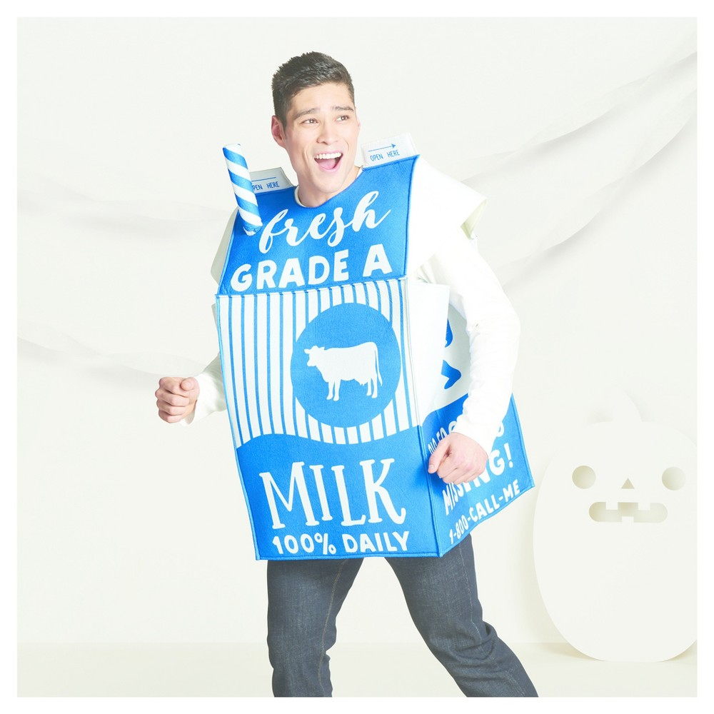 Milk Carton Costume - One Size Fits Most - Hyde and Eek! Boutique, Toddler Unisex