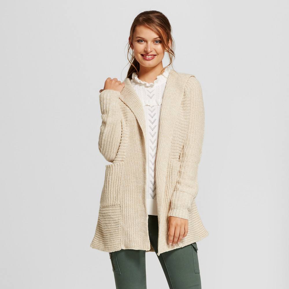 Womens Car Coat - A New Day Camel M