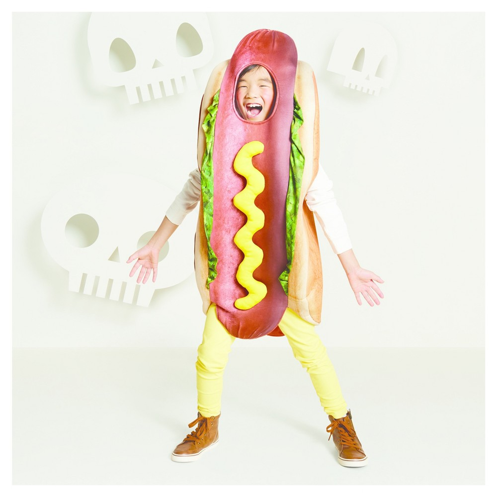 Kids Hot Dog Costume L/XL - Hyde and Eek! Boutique, Kids Unisex, Brown