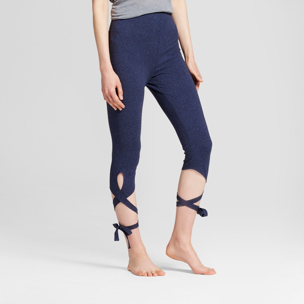 Womens Wrap Leggings - Mossimo Supply Co. Navy Heather L