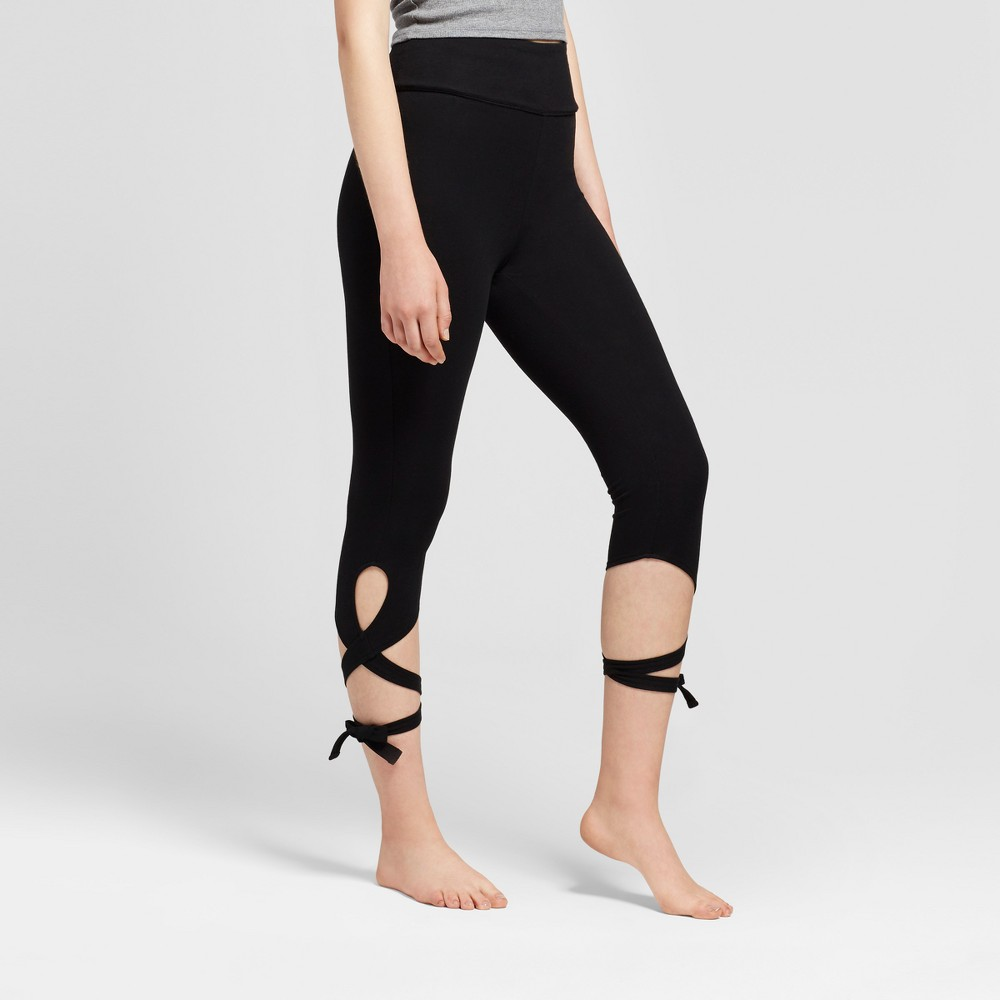 Womens Wrap Leggings - Mossimo Supply Co. Black Xxl