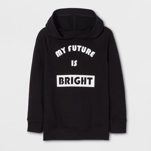 Girls' Long Sleeve My Future Is Bright Sweatshirt - Cat & Jack ...