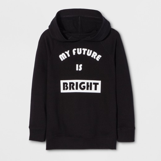 Girls' Long Sleeve My Future Is Bright Sweatshirt - Cat & Jack ...