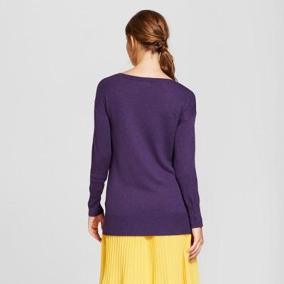 purple sweater : Target