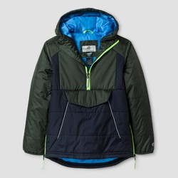C9 Champion® Boys' Mid Weight Anorak Puffer Jacket - Navy