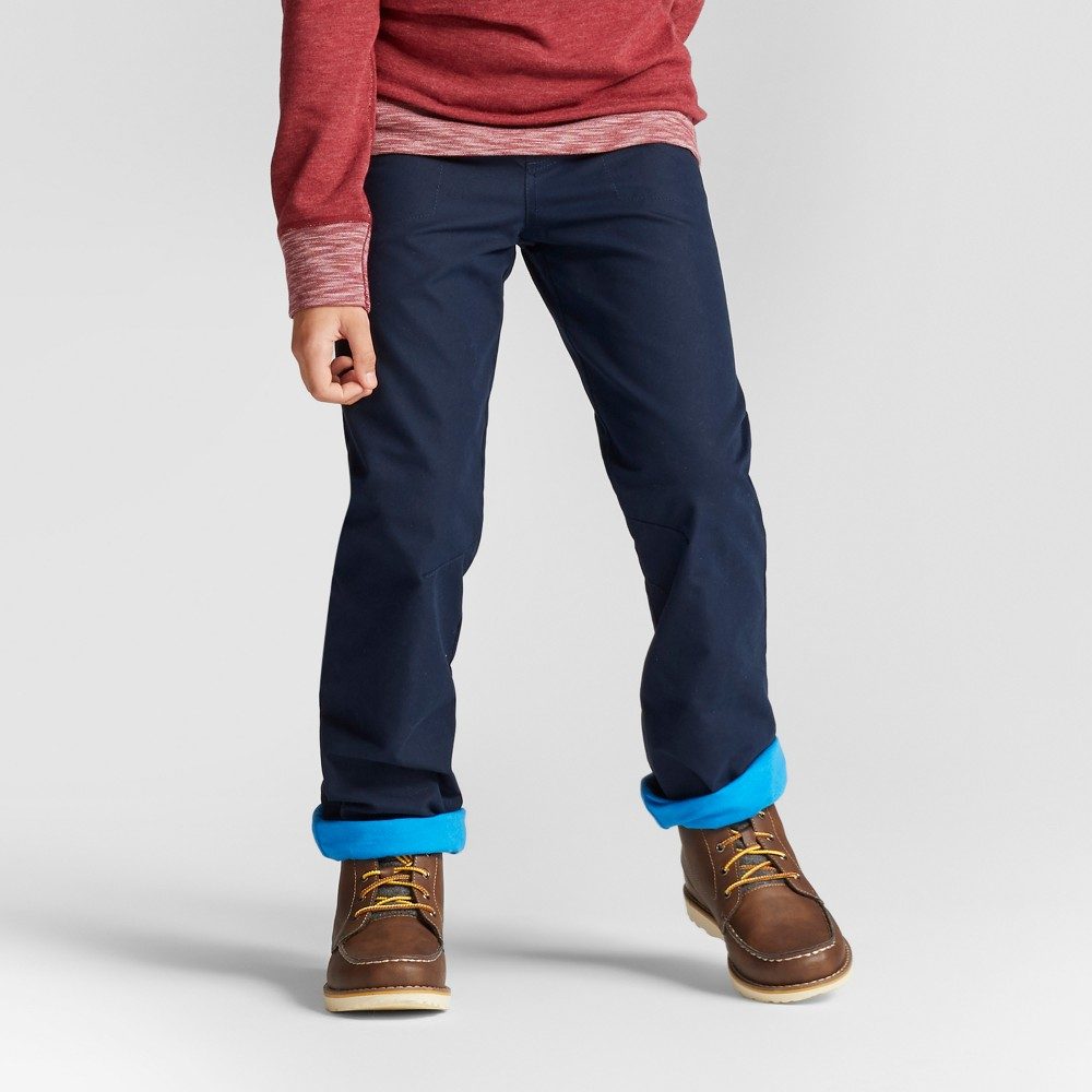 Boys Lined Pull-On Pants - Cat & Jack Fighter Pilot Blue Xxl