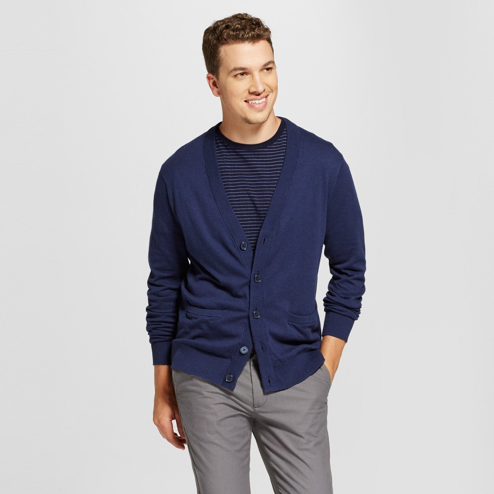 Mens Cardigan Sweater - Goodfellow & Co Navy (Blue) S