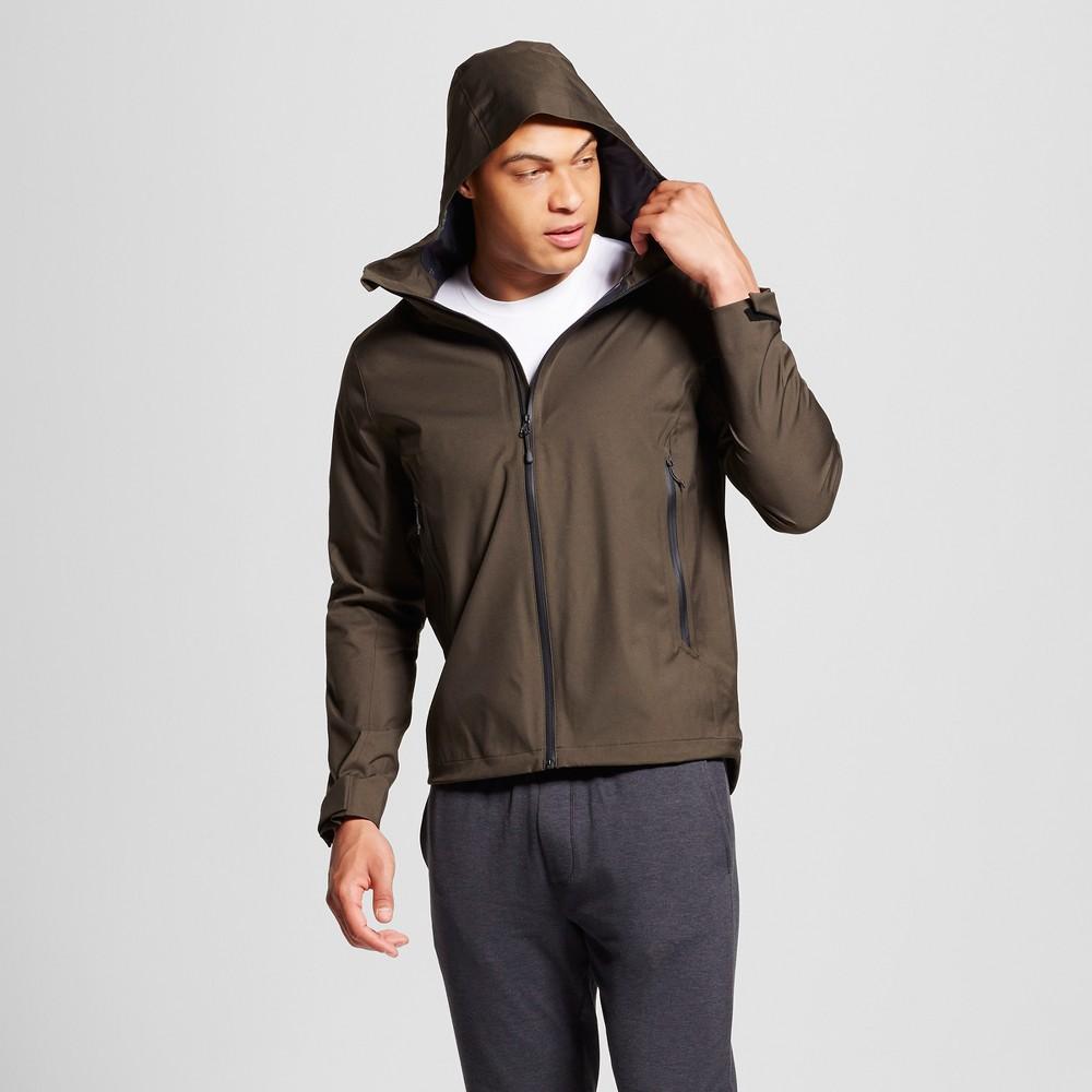 Mens Softshell Waterproof Jacket - C9 Champion Viridian Olive S