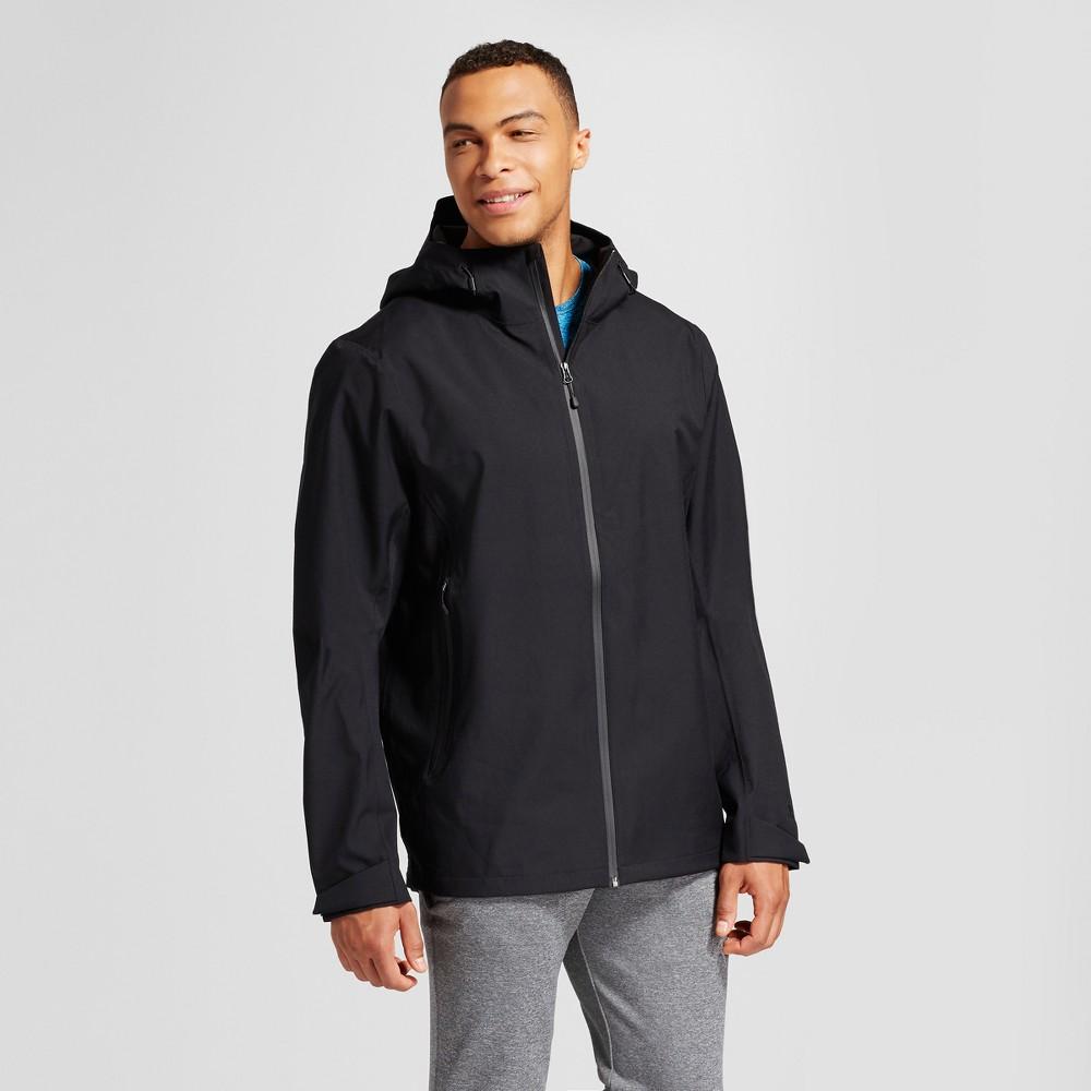 Mens Big Softshell Waterproof Jacket - C9 Champion Black 4XB