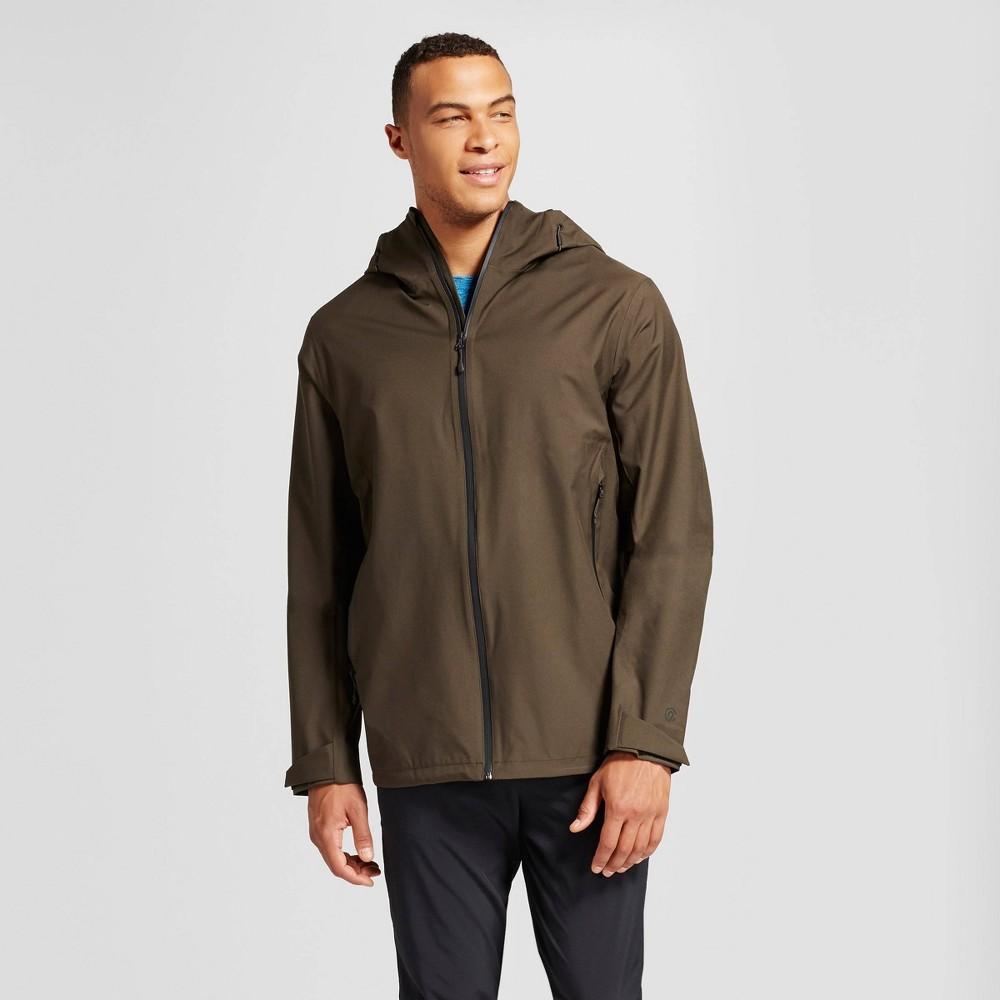 Mens Big & Tall Softshell Waterproof Jacket - C9 Champion Viridian Olive 5XBT
