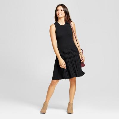 Black and white career dresses