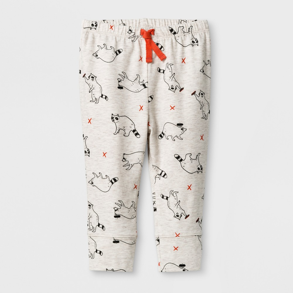 bc3588fef8 Baby Boy Racoon Jogger Pants Cat Jack Heather 12m Size 12 Months Gray