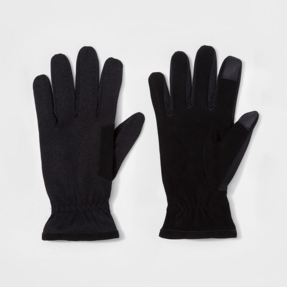 Mens Synthetic Dress Gloves - Goodfellow & Co Black XL