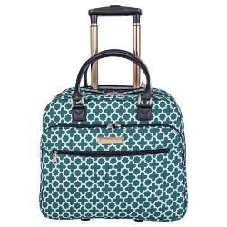 """Jenni Chan Aria Broadway 24"""" Softside Spinner Luggage"""