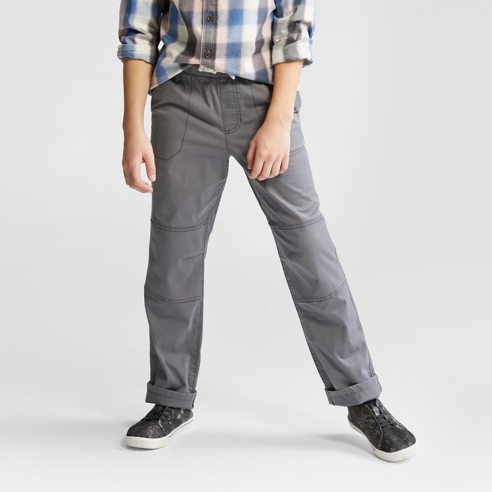 Boys Pull-On Pants - Cat & Jack Proper Gray M