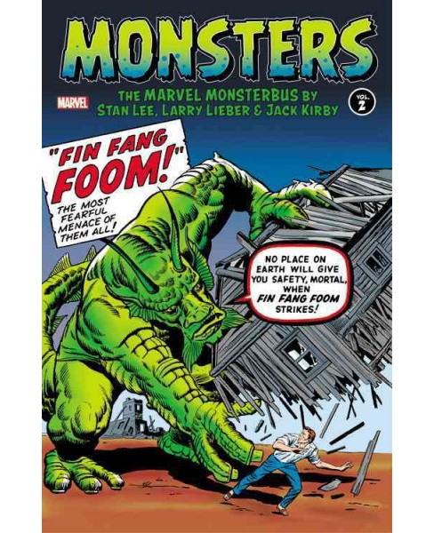 Monsters 2 : The Marvel Monsterbus (Hardcover) (Stan Lee & Larry Lieber) - image 1 of 1
