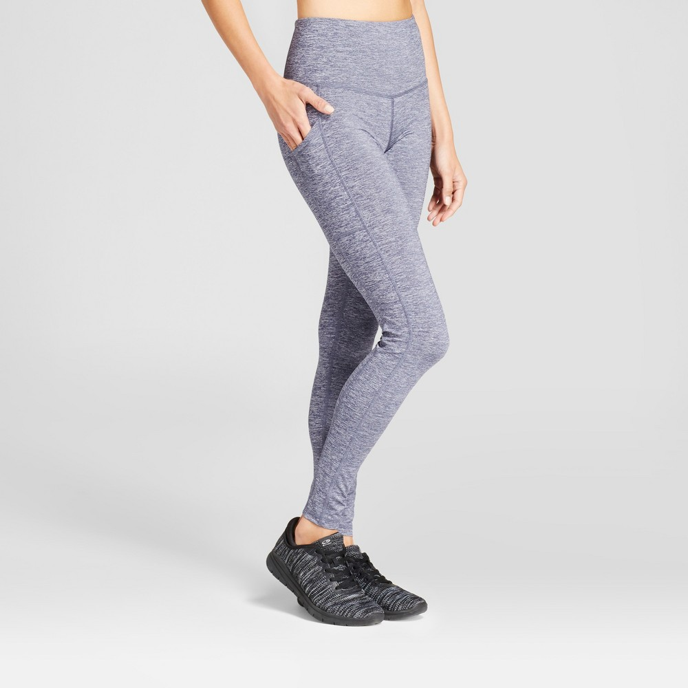 Womens Embrace High-Waisted Leggings - C9 Champion Blue S