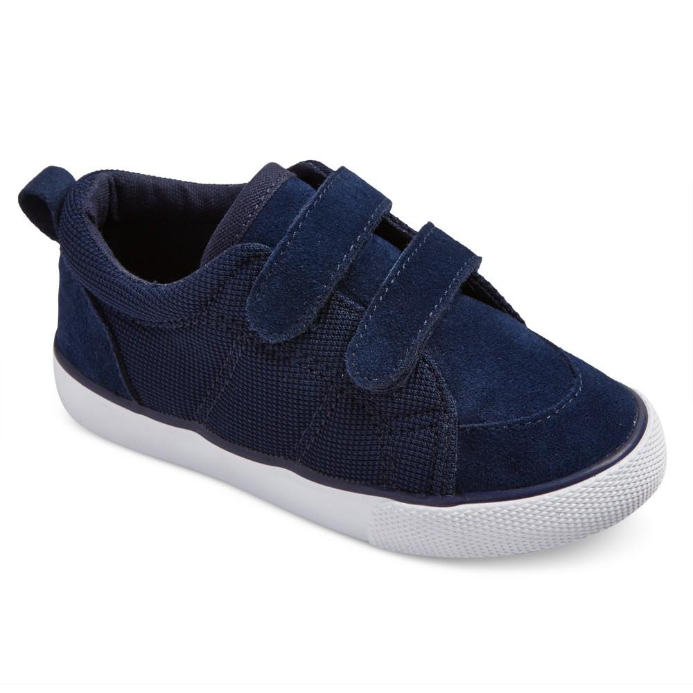 Toddler Boys Diedre Bump Suede Sneakers 11 - Cat & Jack - Navy (Blue)