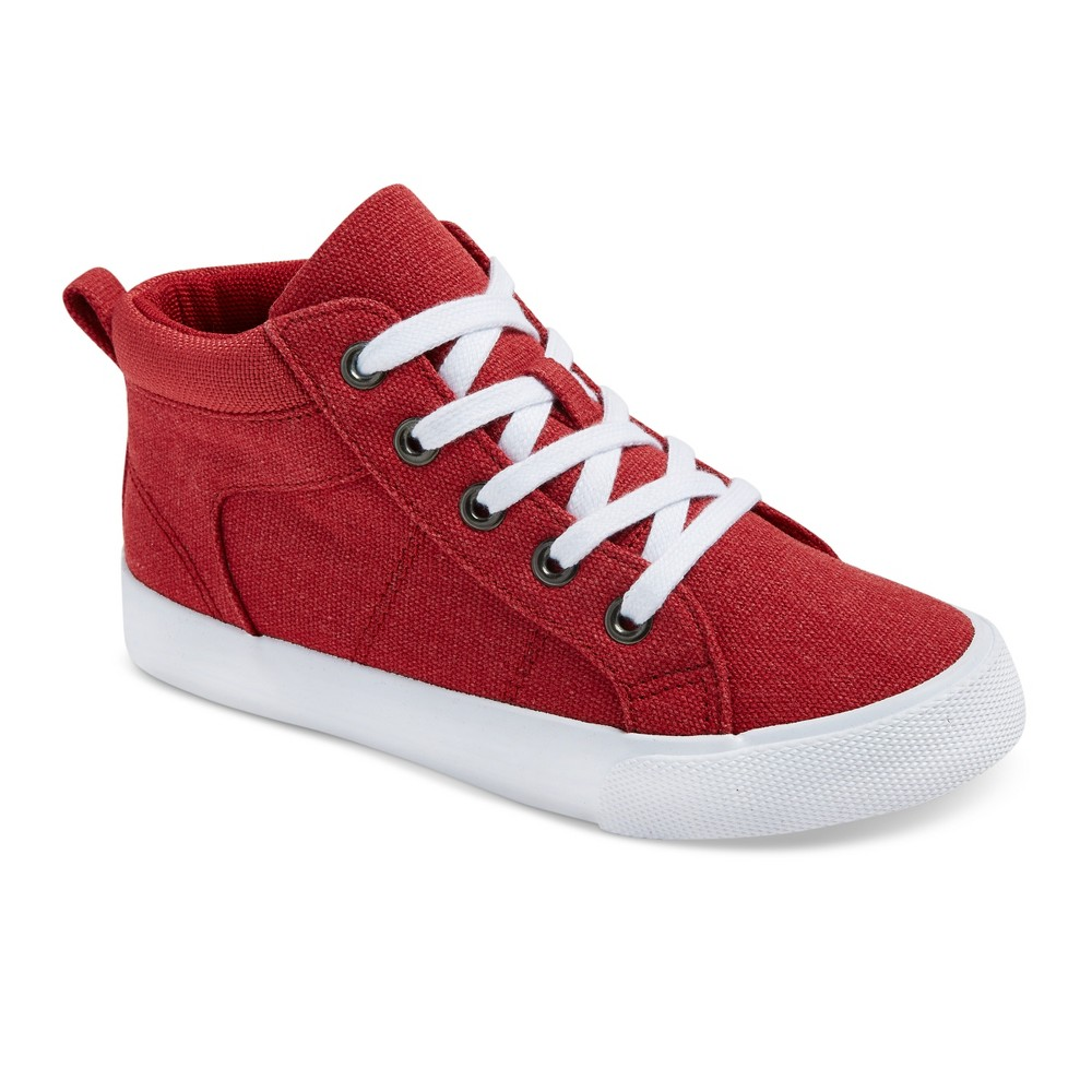 Boys Gladden Canvas High Top Sneakers - Cat & Jack Red 13