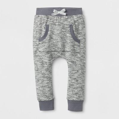 Baby Girls' Kanga Jogger Pants - Cat & Jack™ Black 0-3 M