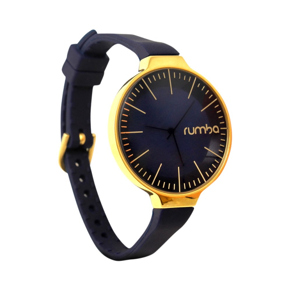 Womens RumbaTime Orchard Gold Watch - Midnight Blue