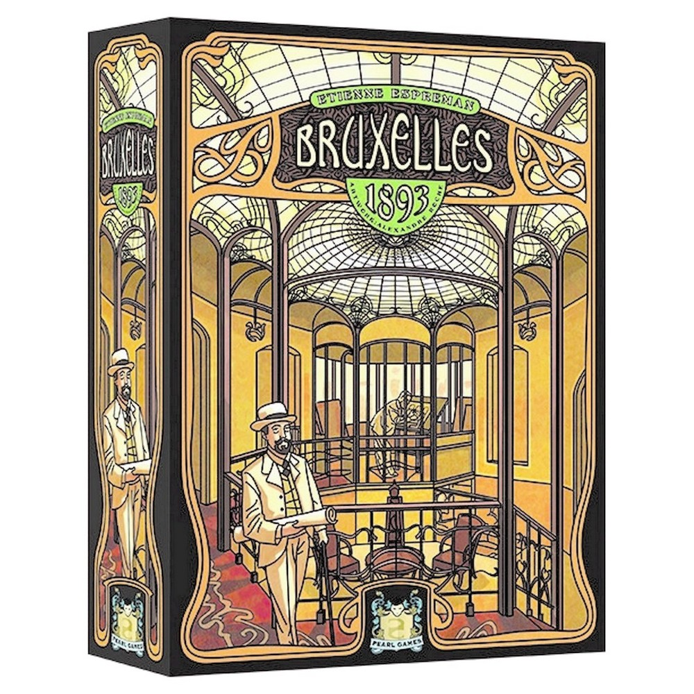 Bruxelles 1893 Game, Board Games