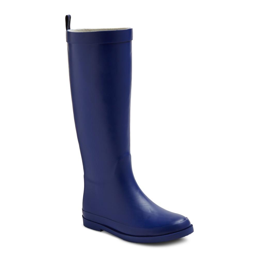 Girls Gretchen Classic Rain Boots Cat & Jack Blue 3