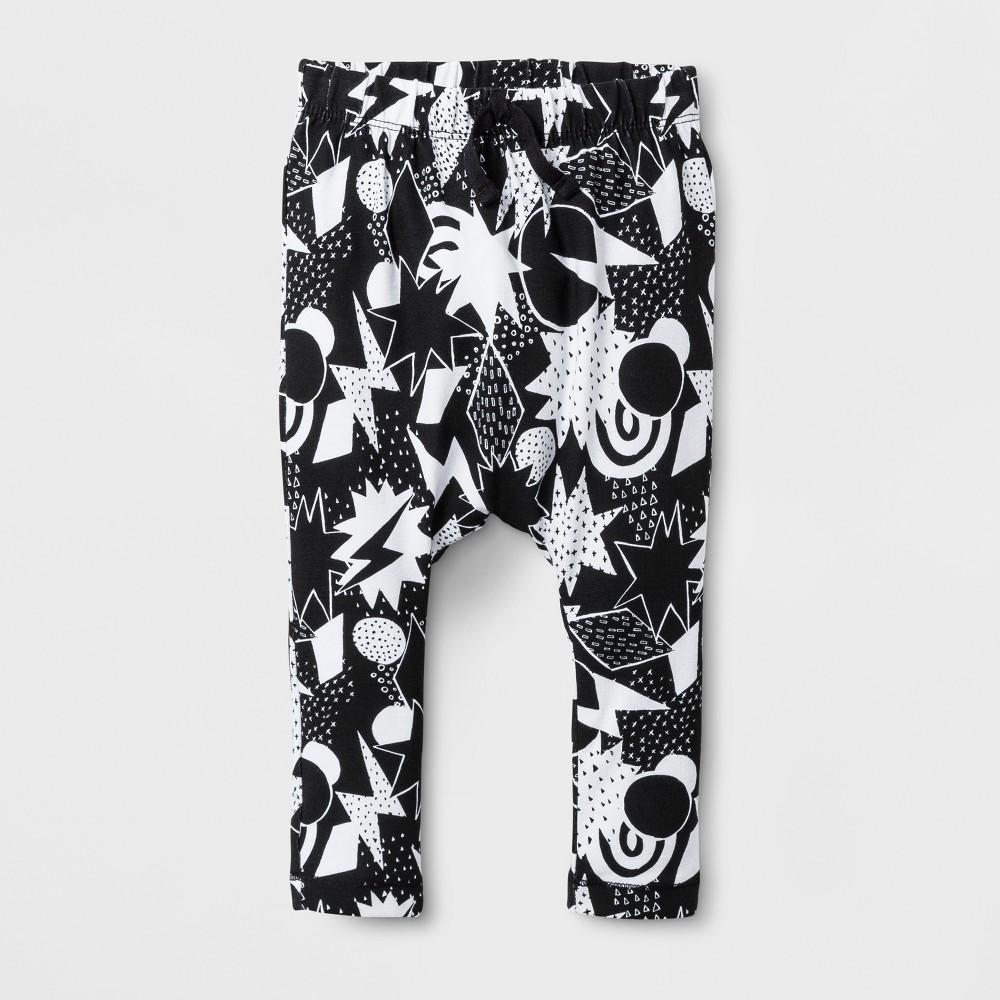 Baby Boys Shapes Print Jogger Pants Cat & Jack - Black 18 M