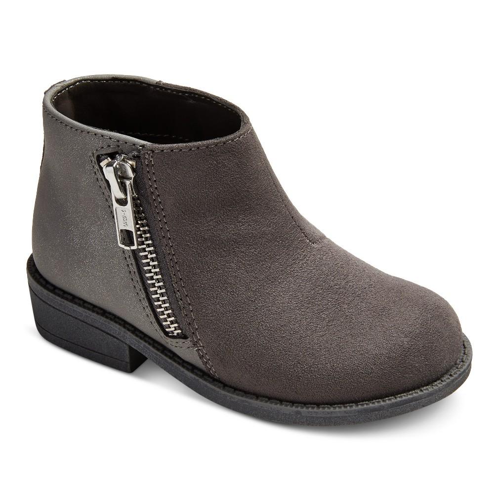 Toddler Girls Jolina Ankle Fashion Boots 10 - Cat & Jack - Gray
