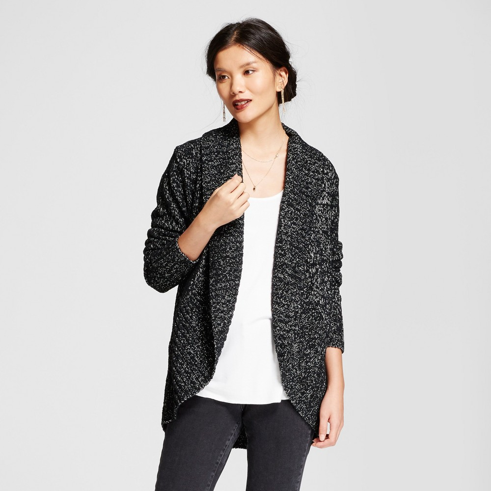 Womens Chenille Cocoon - A New Day Black S