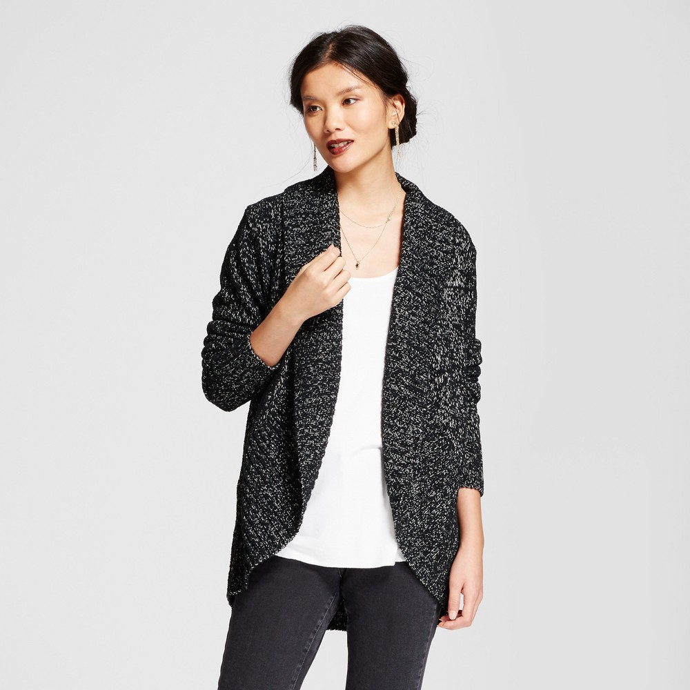 Womens Chenille Cocoon - A New Day Black L