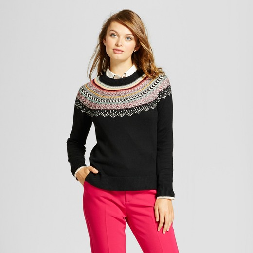 Women's Fairisle Any Day Pullover - A New Day™ : Target