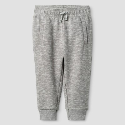 Baby Boys' Solid Jogger Pants - Cat & Jack™ Classic Gray 6-9M