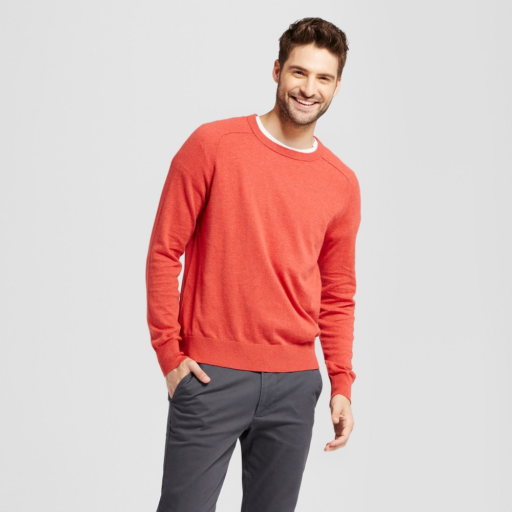 Mens Crew Neck Sweater - Goodfellow & Co Red S