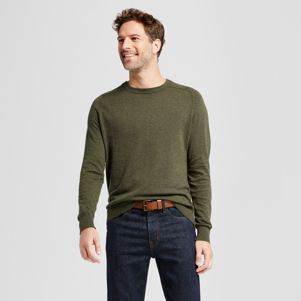 Mens Crew Neck Sweater - Goodfellow & Co Olive (Green) S