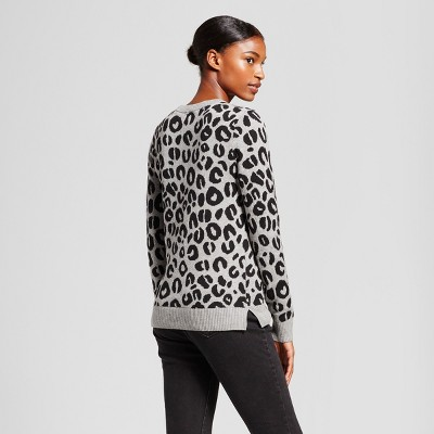 leopard printed sweater : Target