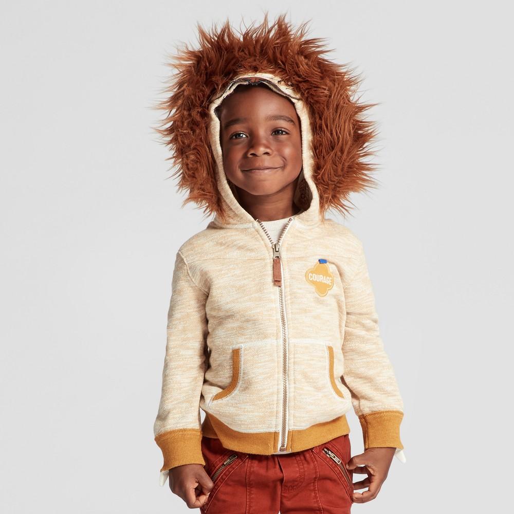 Toddler Boys Sweatshirt - Genuine Kids from OshKosh Gold 12M, Size: 12 M